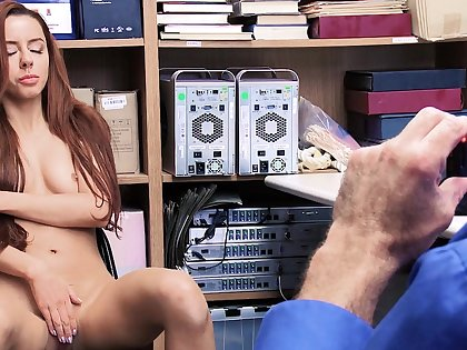 Shop lifter gets fucked and jizzed in naughty XXX scenes