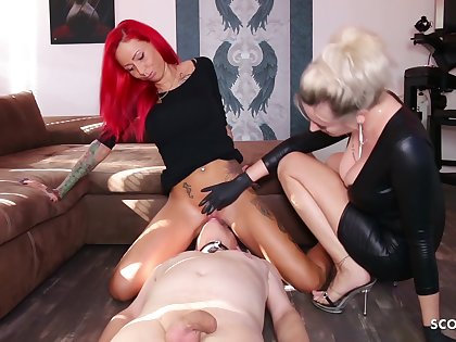 German Domina Let Resulting Rendered helpless Mistress Teen Pussy To Org