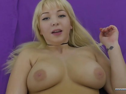 cute curvaceous busty pair chick POV sex